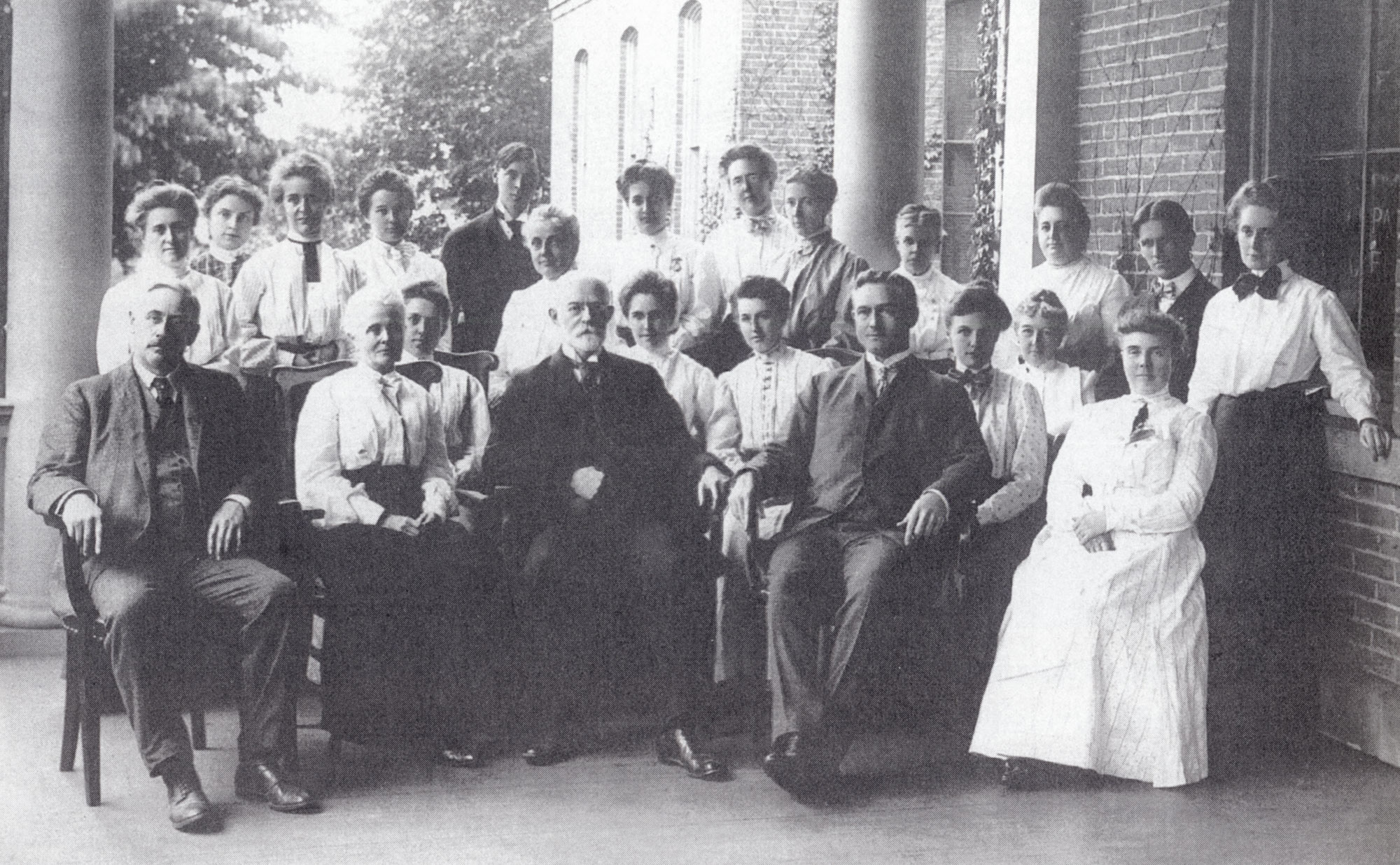 1905 faculty