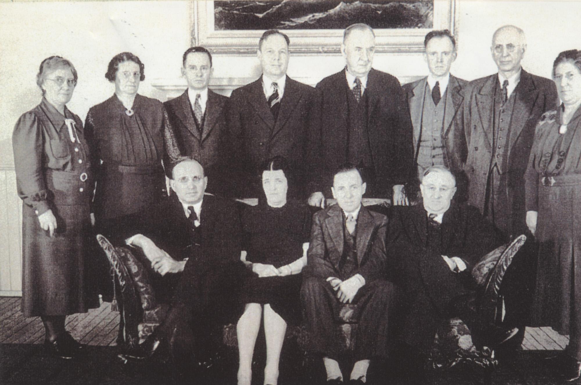 1937–38 faculty council