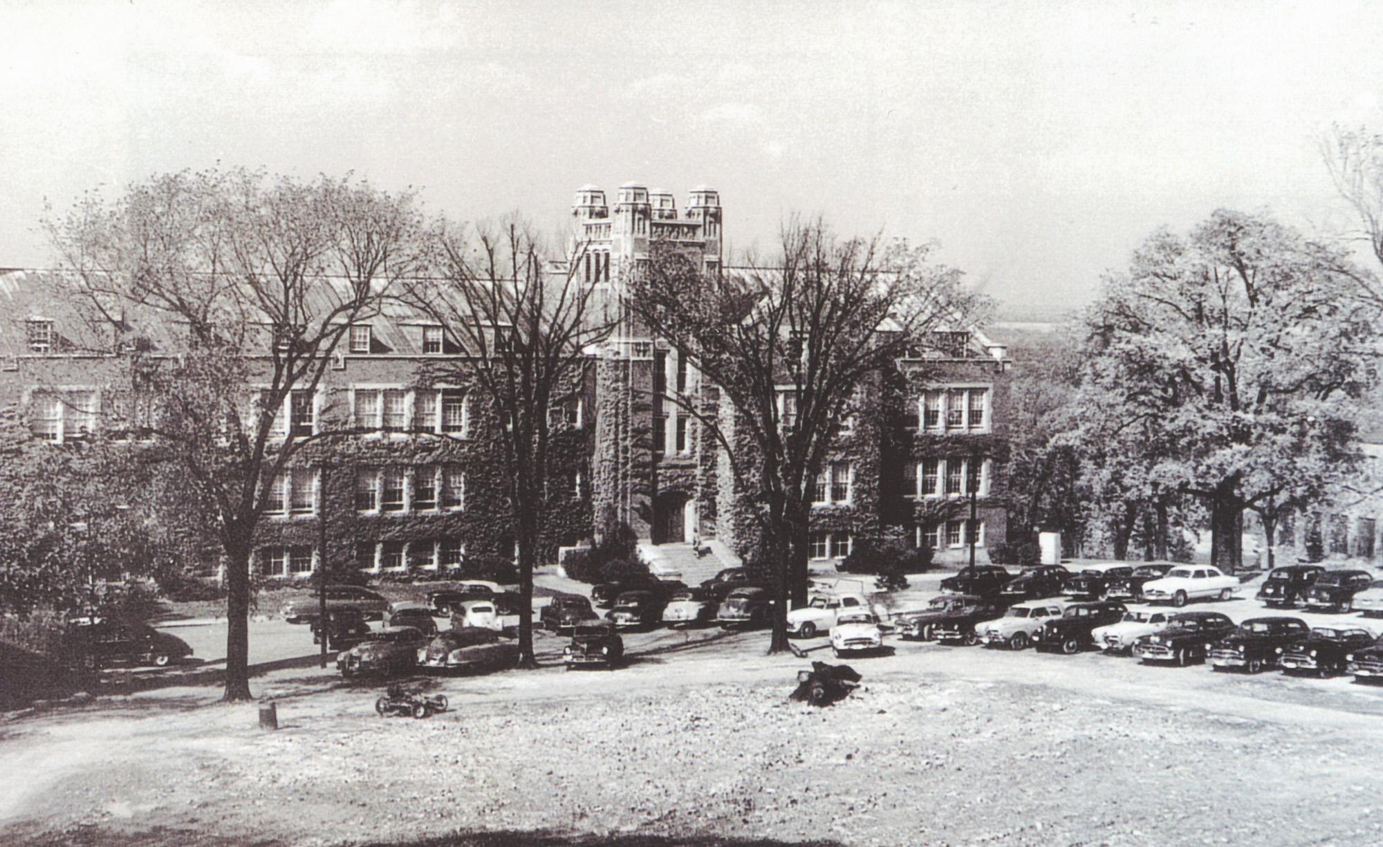 campus in 1948