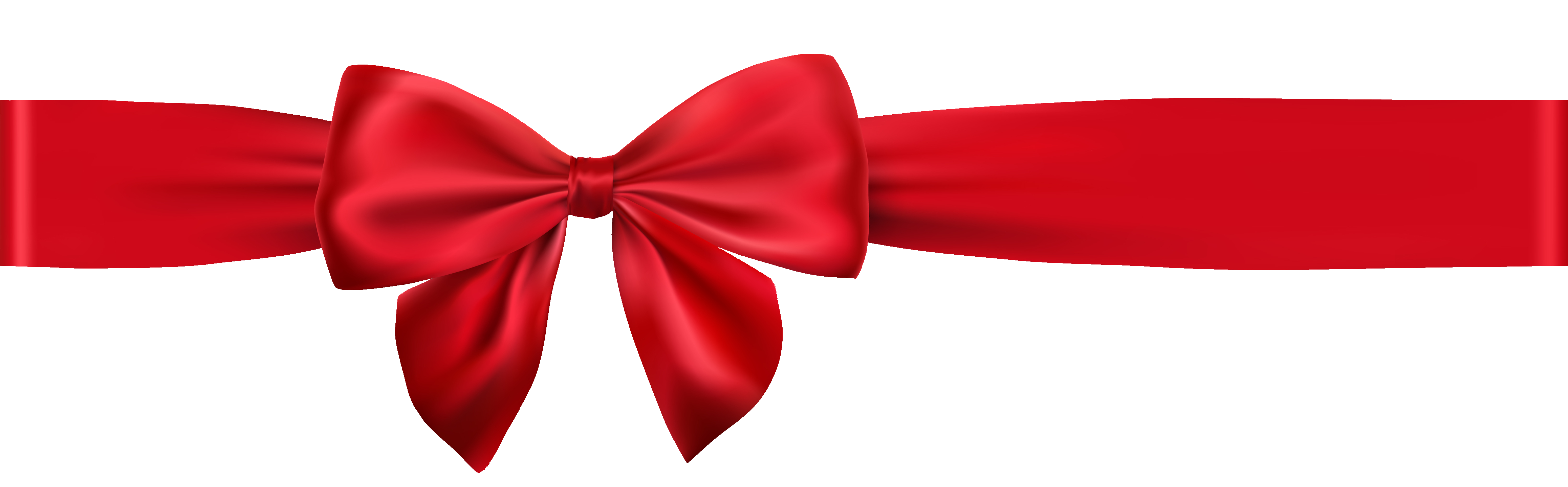 Red Holiday Bow