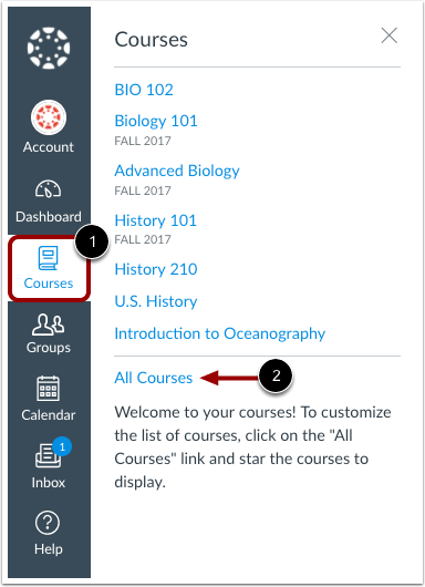 Courses, all Courses