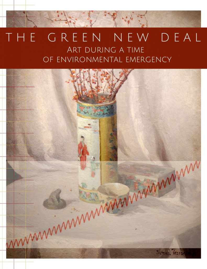 Postcard for Green New Deal exhibit