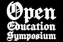 Open Education Symposium